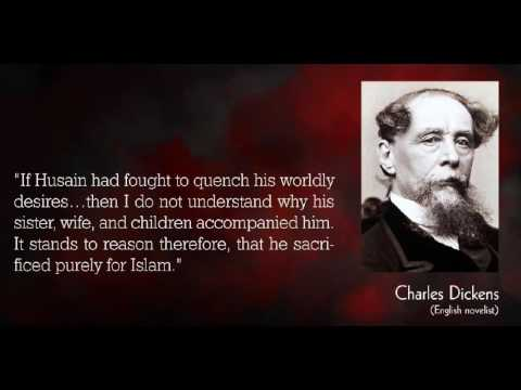 Charles Dickens on Hussain
